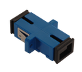 SC Fiber Optic Coupler Simplex UPC SM Ceramic Blue