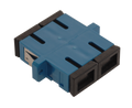 SC Fiber Optic Coupler Duplex UPC SM Ceramic Blue