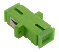 SC Fiber Optic Coupler Simplex APC SM Ceramic Green