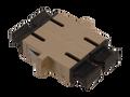 SC Fiber Optic Coupler Duplex PC MM Ceramic Beige