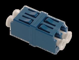 LC Fiber Optic Duplex UPC SM Ceramic Blue (SC Simplex Foot Print)