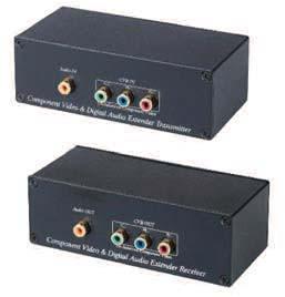 C5RCVDA CAT5 Component Video Balun Transformer with Digital Audio Kit