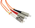 LC-SC Duplex Multi Mode 62.5/125 Fiber Optic Patch Cable