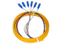 6S SM Fiber Optic Pigtail 3M SC/UPC