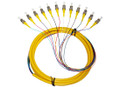 12S SM Fiber Optic Pigtail 3M ST/UPC