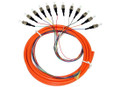 12S MM OM1 Fiber Optic Pigtail 3M ST