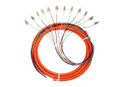 12S MM OM1 Fiber Optic Pigtail 3M LC