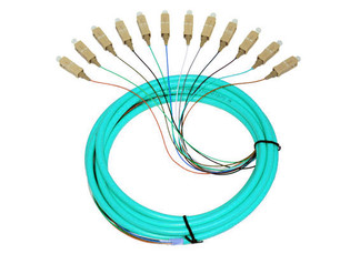 12S MM OM3 Fiber Optic Pigtail 3M SC 10 GIG