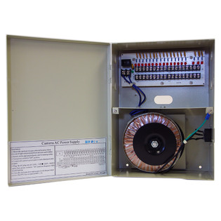 16 Channel 24VAC 8 Amps Power Supply