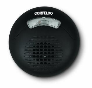 Cortelco Loud External Ringer Round Black