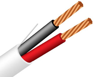 16/2 Plenum Security Cable Stranded CMP Alarm Audio Signal 1000'