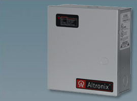 Altronix 2 PTC Outputs Power Supply/Charger. 12/24VDC @ 1A. Class 2.