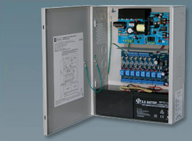 Altronix 8 Fused Outputs Power Supply/Access Power Controller. 12/24VDC @ 6A.