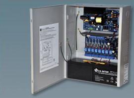 Altronix 8 PTC Outputs Power Supply/Access Power Controller. 12/24VDC @ 6A.