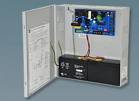 Altronix Panic Hardware Power Supply, two 24VDC Lock out, 12/24VDC Aux Out