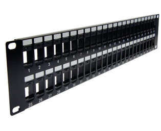 48 Port MIG Empty Patch Panel