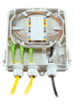 FTTH Fiber To The Home Outdoor Fiber Distribution Box 12 Splice Tray