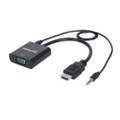 Intellinet 151559 HDMI Male to VGA Female Adapter with Audio