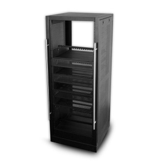 Portable Home Theater Rack 5' 30U with Shelves HT6019-30-02