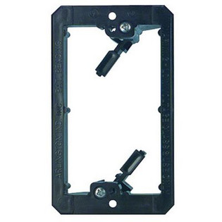 LV1 Plastic Retrofit Low Voltage Mounting Bracket Single Gang