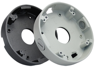 "CCTV Turret Camera Junction Box 3.75"" Diameter"