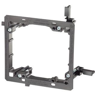 LV2 Plastic Retrofit Low Voltage Mounting Bracket Dual Gang