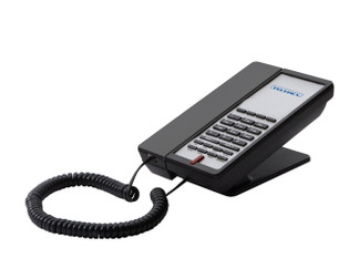 E200 - 4GSK Teledex Two Line Micro Footprint E Series Guestroom Phone