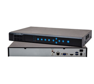 16 Channel 2 HDDs up to 12TB 128Mbps Network Video Recorder