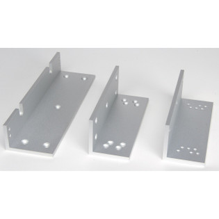 Set of L and Z Bracket for 1200lb Mag Lock for Swing Doors CX-1002