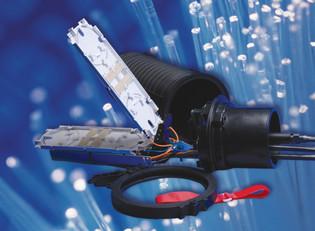 FOSC450-A4-4-NT-0-A1V Tyco Fiber Splice Case No Trays