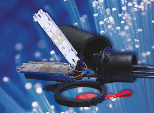 FOSC450-D6-6-36-1-D3V Tyco Fiber Splice Case FOSC 450