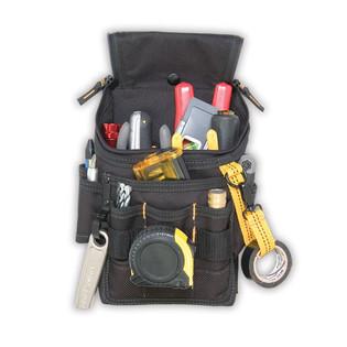 Custom Leather Craft Medium Poly Ziptop Utility Tool Pouch