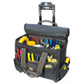 "Tech Gear 17"" Roller Bag with a Telescoping LED Lighted Handle L258"