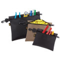 Three Bag Set Multi-Purpose Clip-On Zippered Bags