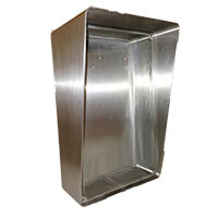 Outdoor Open Style Telephone Enclosure Stainless Steel 331-HOB-S