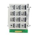 Alphanumeric Braille Satin Chrome Stud Mount Keypad 705-200