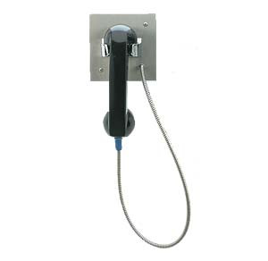 Direct Connect Flush or Surface Mount Handset Telephone Stainless Steel Prison SSP-350-X