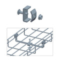 Cable Tray Coupler Zinc