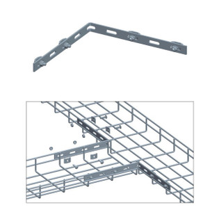 Cable Tray Corner Bar Kit Zinc