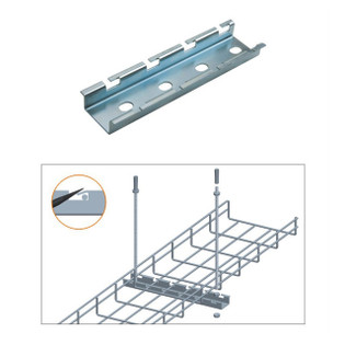 "6"" Cable Tray Ceiling Hanging Bar Zinc"