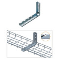 Cable Tray 12 inch L Wall Bracket Zinc