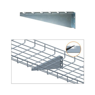 Cable Tray 12 inch Wall Bracket Zinc