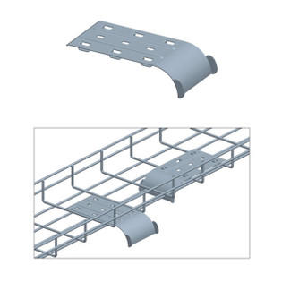 cable tray cable guide waterfall drop