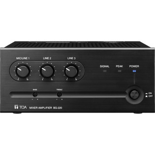 TOA Electronics BG-220 Amplifier Mixer 20 Watt