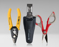Fiber Tool Kit with Three Hole Stripper and Kevlar Cutter