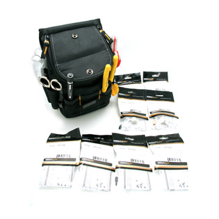 Complete Fiber Optic Starter Kit with ST and SC MM Connectors