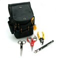 Fiber Optic Starter Tool Kit Stripper Scissors VFL Pouch