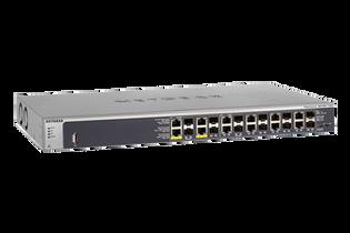 GSM7212F 12 Port Gigabit 12 SFP Shared 4 POE+ 150W M4100-12GF