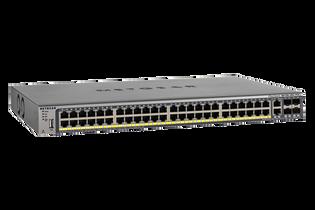 GSM7248P 50 Port 4 SFP 48 POE+ 380W M4100-50G-POE+