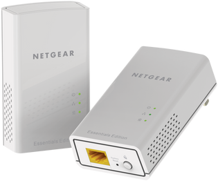 Netgear PL1010 Gigabit Powerline Network Extender over Electrical System